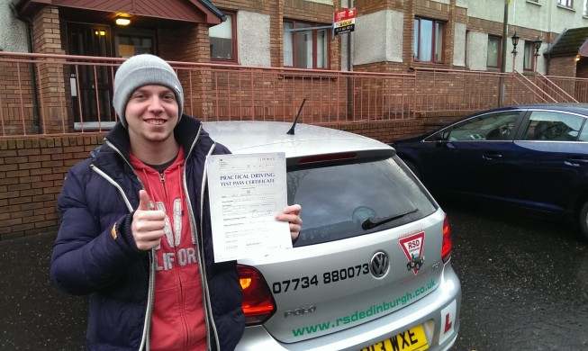 Pass Your Driving Test In Edinburgh